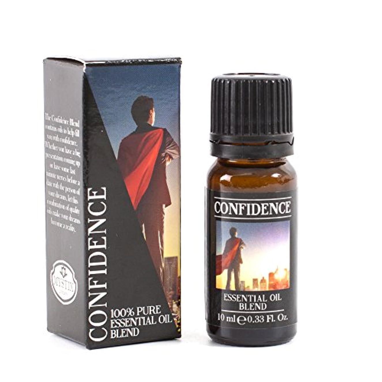 デコレーションガソリン手を差し伸べるMystic Moments | Confidence Essential Oil Blend - 10ml - 100% Pure