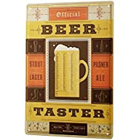 Beer Tin Sign ブリキ看板 Nostalgic Decoration Official Tester beer mug stock Pils Ale