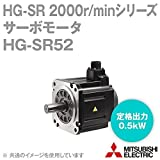 三菱電機 HG-SR52 サーボモータ HG-SR 2000r/minシリーズ 200Vクラス (中慣性・中容量) (定格出力容量 0.5kW) NN