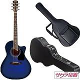 S.Yairi ヤイリ アコースティックギター エレアコ YE-4M/BB サクラ楽器オリジナル ハードケースセット