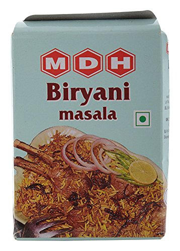 MDH ハイデラバディ ビリヤニマサラ 50g 10箱 Hyderabadi Biryani masala 業務用 スパイス ハーブ 香辛料 調味料 ミックススパイス