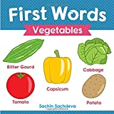 First Words (Vegetables): Early Education book of learning colorful and yummy vegetables for kids
