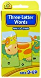 School Zone Three Letter Words Puzzle Cards (School Zone)