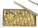 [クリスチャン・ディオール] Christian Dior 長財布 トロッター キャンバス×レザー X9112 中古
