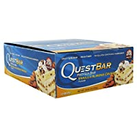 Quest Nutrition プロテインバー バニラアーモンドクランチ Vanilla Almond Crunch 24本セット 【並行輸入品】 Quest Nutrition Protein Bars 24packs