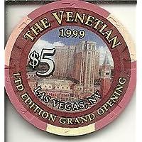 $ 5 Venetian Grand Openingラスベガスカジノチップ