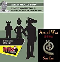 "Adrian Mikhalchichin: Strategy University Vol. 5: Winning Methods of Great Players & ChessCentral's ""Art of War"" E-Book:"