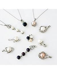 ネックレス 淡水養殖真珠の無限大ネックレス 並行輸入品