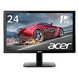 Acer ゲーミングモニター KG240bmiix 24インチ/1ms/HDMI×2/スピーカー付/ブラックブースト機能