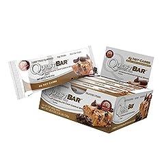 Quest (クエスト) 栄養プロテインバー チョコレートチップ入りクッキー生地 1個60g (2.1オンス) 12個 [海外直送品]