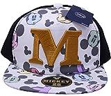 (ディズニー)Disney (ミッキーマウス)Mickey Mous ミッキーフェイスBBキャップ(ベースボールキャップ) ホワイト