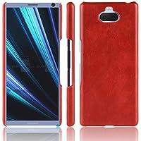 Sony Xperia XA3 電話 シェル 保護 設計 シェル MeetJP 女の子 強い シェル MeetJP スリム 轻 シェル カバー の Sony Xperia XA3 (Red)
