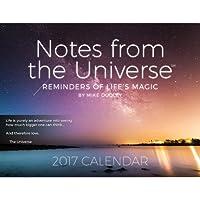 ノートからThe Universe Wall Calendar 2017