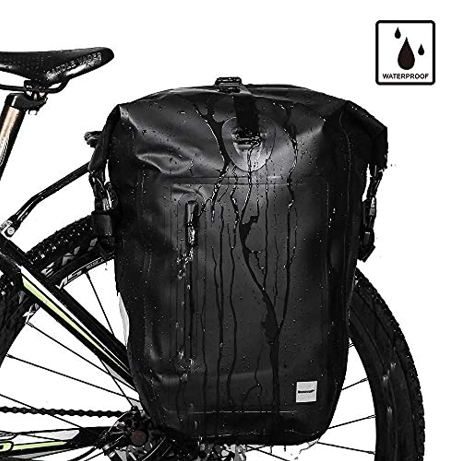 なしでオプショナルわなRhinowalk 自転車 パニアバッグ リアバッグ サイドバッグ バイク 防水 大容量 軽い 収納力抜群