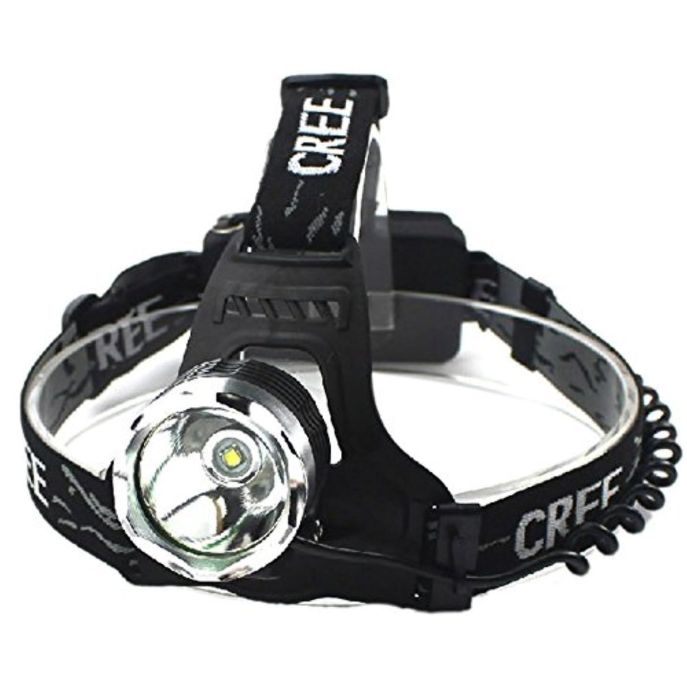 歯科医届ける同一のGOODGOODS LED 充電式 ヘッドライト 1800LM ヘッドランプ CREE XM-L T6 3モード機能付き【一年保証】 HL80