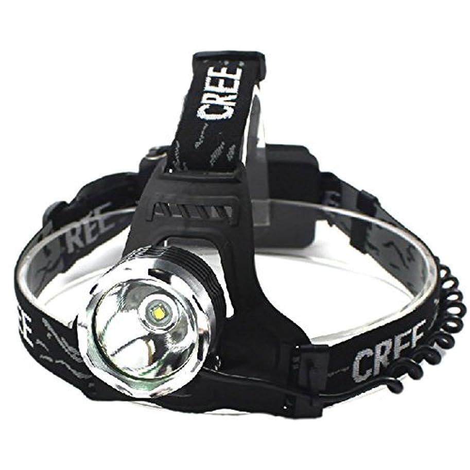 彫刻家アーティキュレーションウィザードGOODGOODS LED 充電式 ヘッドライト 1800LM ヘッドランプ CREE XM-L T6 3モード機能付き【一年保証】 HL80