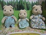 廃盤  シルバニア ファミリー ブタファミリー pig family 豚家族 sylvanian families 森林家族