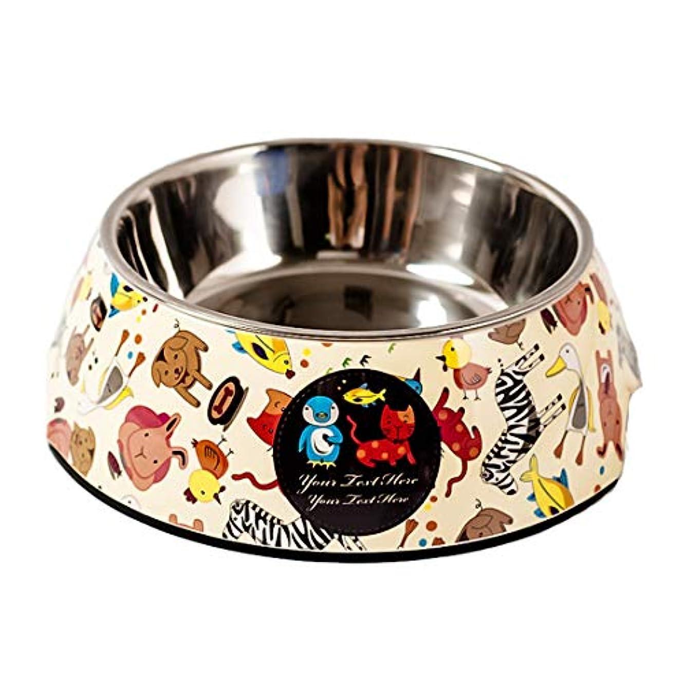 Jiyaru ペットボウル ペット食器 ボウル食器 小型 中型 犬用 猫用 ペット用 食器 小型 中型 犬 猫 餌皿 ウォーター フード ボウル ステンレス製 ご飯 水 お餌 入れ 食器 滑り止め付き