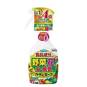 カダン 花と野菜のやさしい殺虫・殺菌 ハンドスプレー セーフ 450ml