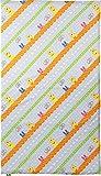エムール×昭和西川 ロディ お昼寝布団用 敷きカバー 綿100% 75×125cm ブルー