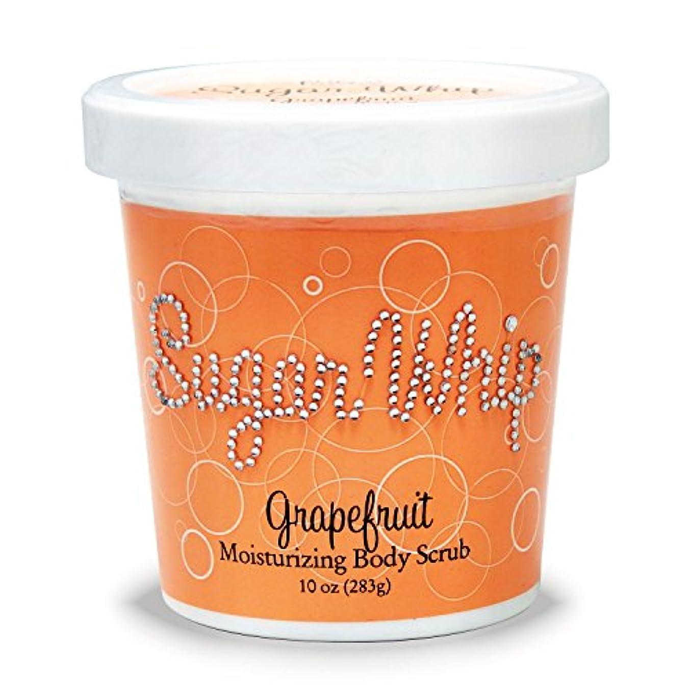 原稿花輪プライモールエレメンツ シュガーホイップ/グレープフルーツ ボディスクラブ 283g サトウキビからできたお砂糖を使用した優しいボデイスクラブ