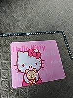 ハローキティ ねこ 猫 kity マウス台 高級感 マウスマット パソコン スポンジ 反応向上 ハンコ台 印鑑押し
