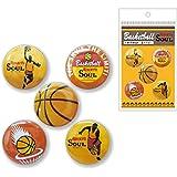 BUKATSU 部活 SOUL 缶バッジ 1508 (バスケットボール)