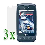 3 X LCD Screen Protector for Sprint LG Optimus S LS670