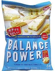 バランスパワー 北海道バター味 6袋(12本)入
