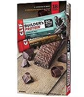 クリフビルダーの20g プロテインバー、バラエティパック (2.4 オンス、18 ct) CLIF Builder's 20g Protein Bar, Variety Pack (2.4 oz,18 ct.)  海外直送