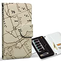 スマコレ ploom TECH プルームテック 専用 レザーケース 手帳型 タバコ ケース カバー 合皮 ケース カバー 収納 プルームケース デザイン 革 クール 地図 世界 外国 002603