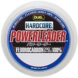 デュエル(DUEL) ライン(フロロカーボン): HARDCORE POWERLEADER FC 50m 16Lbs. : ナチュラルクリアー