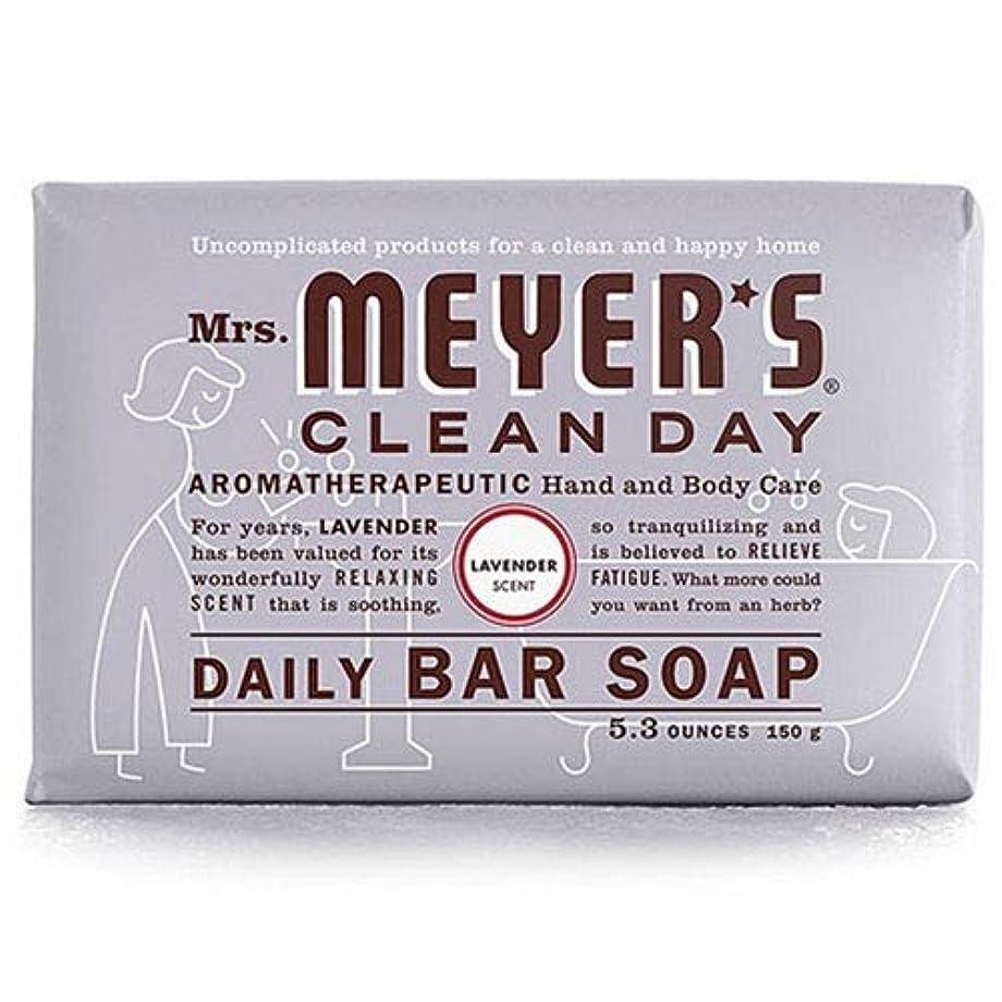 無駄に人物手錠Mrs. Meyers 夫人マイヤーズ石鹸ラベンダー5.3オンス(156Ml)(2パック)