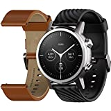 motorola Moto 360 3rd Gen Smartwatch - Stainless Steel Case and 20mm Band, Screen Protection with PDV Coating, Steel Gray,Extra Large,M360FS19-SS
