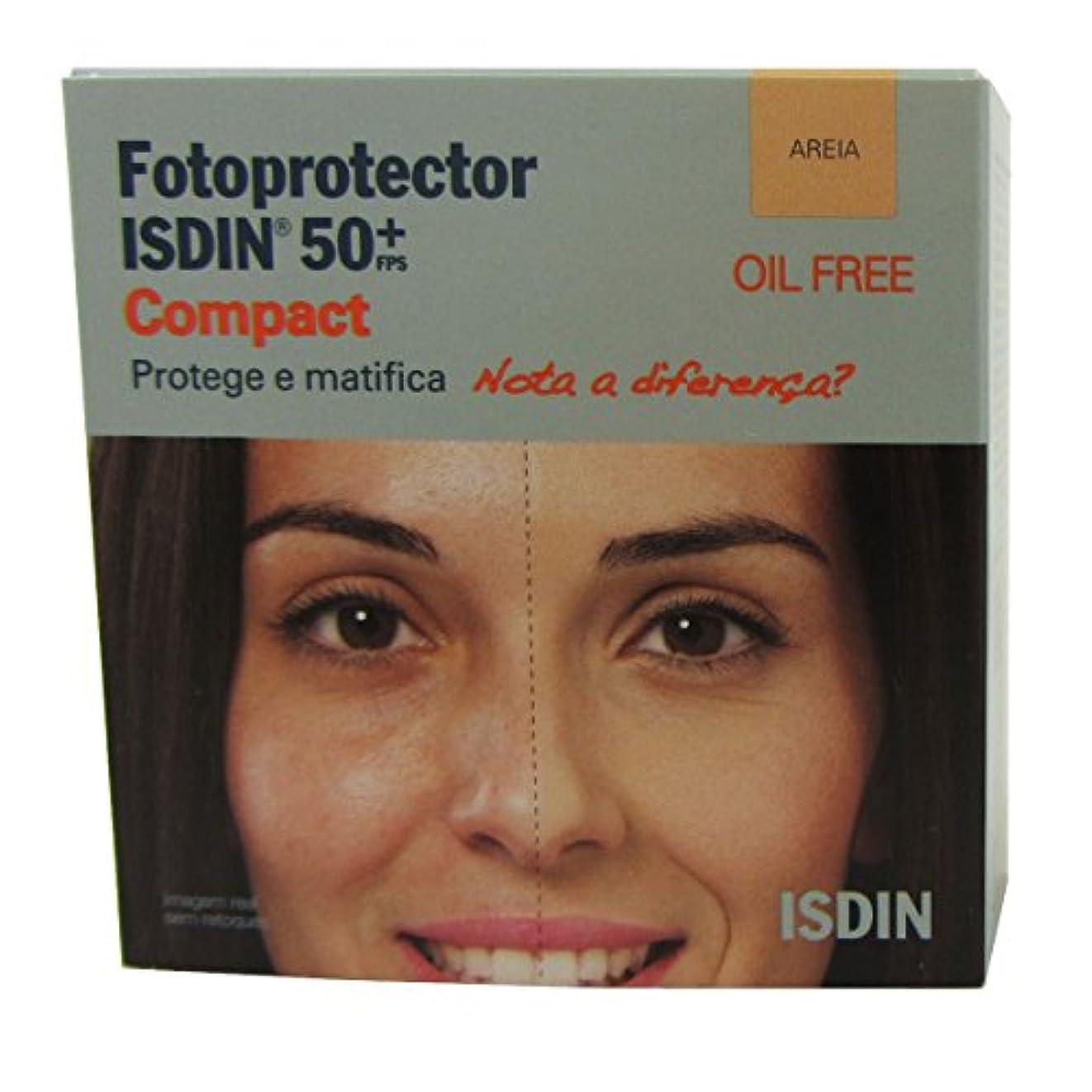 慎重に有名人面積Isdin Photoprotector Compact 50+ Sand 10g [並行輸入品]