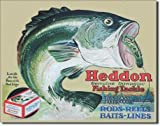 【Heddon-Frogs】 ヘドン ルアー バス フィッシング アメリカンブリキ看板