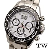 TECHNOS(テクノス) クロノグラフ腕時計 T4485TW (ブラック)