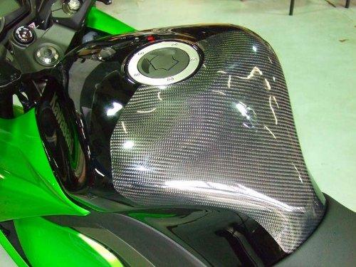クレバーウルフレーシング(CLEVER WOLF Racing) タンクプロテクター 綾織 CFRP/カーボン NINJA1000[Z1000SX](11-) NI10-108-03