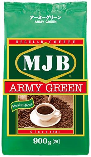 MJB アーミーグリーン 1袋900g
