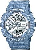 [カシオ] 腕時計 ジーショック DENIM'D COLOR GA-110DC-2A7JF ブルー