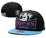 Anaheim Mighty DucksファッションフラットバイザーロゴスタイルスナップバックキャップHat