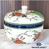[Zaklady Ceramiczne Boleslawiec/ザクワディ ボレスワヴィエツ陶器]リンゴのポット12.5cm-164 ポーリッシュポタリー