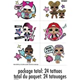 LOL Surprise! Party Tattoo Sheets, 24 Ct.