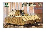 タコム 1/35 第二次世界大戦 ドイツ超重戦車 マウスV1 プラモデル TKO2049