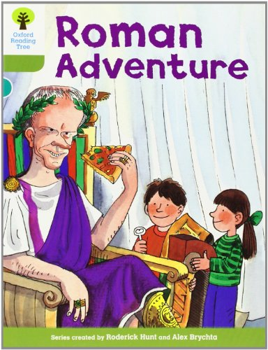 Oxford Reading Tree: Level 7: More Stories A: Roman Adventureの詳細を見る