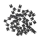 Hommy 黒いジャンパー キャップX50  2.54mm