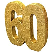 Gold Glitter Table Decoration - 60