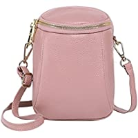 RARITY-US Leather Crossbody Shoulder Bag Small Cell Phone Purse Wallet Handbag Fits for IPhone 6 6S 7 8 Plus