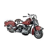 27214 ブリキのおもちゃ motorcycle brown
