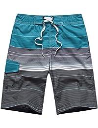 [サイユメ] SAIYUME メンズ サーフパンツ ショーツ 水着 海水パンツ 海パン ゴムウエスト サーフショーツ 海水浴 プール 温泉